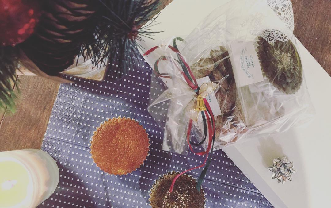 クリスマスイブです。みなさまが素敵なクリスマスを楽しめますように☆ 明日、ご来店お待ちしております。 #お茶の菓...