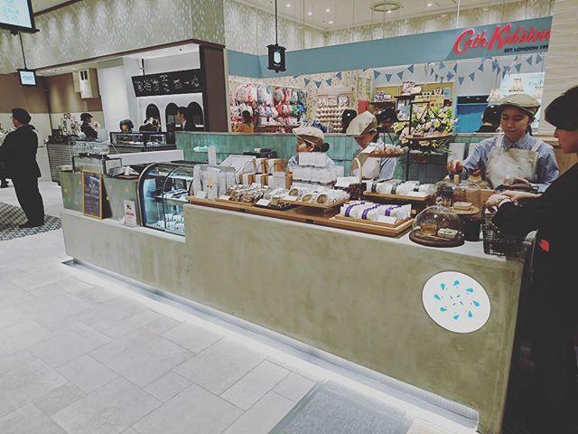 お茶の菓さいさい神戸マルイ店オープン! #オープン #神戸マルイ #お茶の菓さいさい