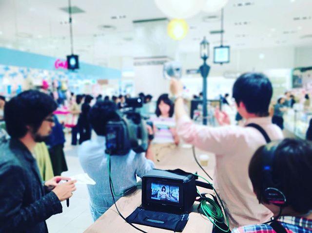お茶の菓さいさい神戸マルイ店です🍵先日神戸マルイの1階マルシェの様子をABC朝日放送さんが取材してくれました🎥5…